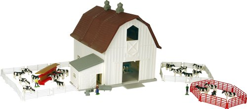 Ertl Farm Country Dairy Barn Playset Barn Farm