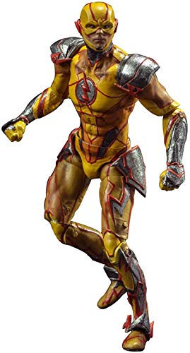 Hiya Toys Injustice 2: Reverse Flash 1: 18 Scale Action Figure (Reverse Flash Action Figure)
