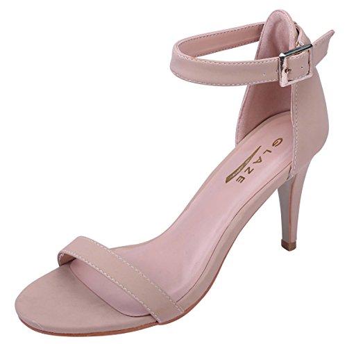 Open Toe Stiletto Heel - 6