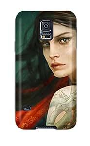 Fashionable VtE-255ArPxsSDo Galaxy S5 Case Cover For Women Protective Case