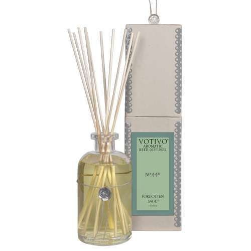 2 Pack Votivo Forgotten Sage #44 Aromatic Reed Diffusers by Votivo