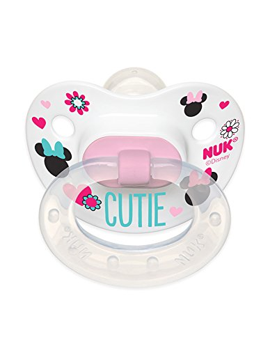 UPC 885131621191, NUK Disney Baby Minnie Mouse Puller Pacifier in Assorted Colors and Styles, 0-6 Months
