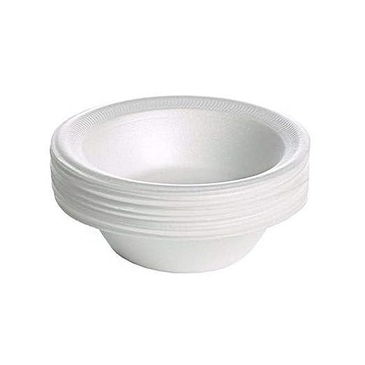 Platos de plástico desechables para fiestas, color blanco ...