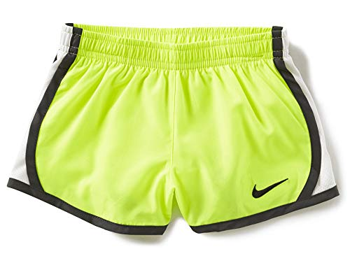 670f479db249 Nike Girl`s Dry Tempo Running Shorts (Volt(167358-669)/Anthracite, 24  Months)