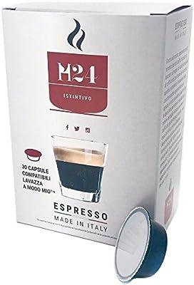 Cápsulas compatibles Lavazza a modo mio - Caffè H24 de Caffè H24 (120): Amazon.es: Alimentación y bebidas