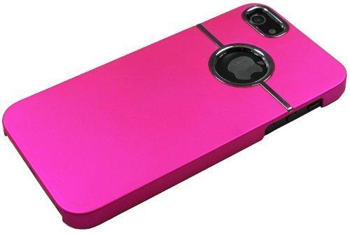 Avcibase 4260310646527 Chrom Schutzhülle für Apple iPhone 5/5G/5S pink
