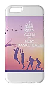Calm-Down-And-Play-Basketball Iphone 6 plastic case