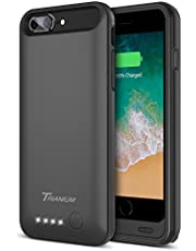 "iPhone 8 Plus/7 Plus Battery Case, Trianium Atomic Pro 4200mAh Extended 8 Plus Battery Portable Charger for iPhone 7 Plus,8Plus (5.5"")[Black] Power Juice Charging Case Pack [Apple Certified Part]"
