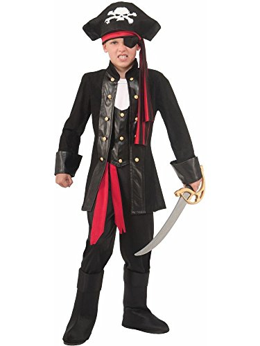 Seven Seas Boys Pirate Costume (Medium (Treasure Of The Sea Costumes)