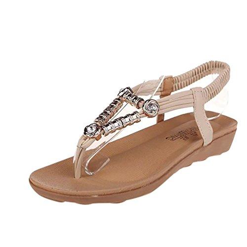 In Piatti Boucl Flip Sandali Donna strap T Shoes Youjia zwpxOq