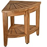 Teak Shower Bench, Teak Shower Stool, 18