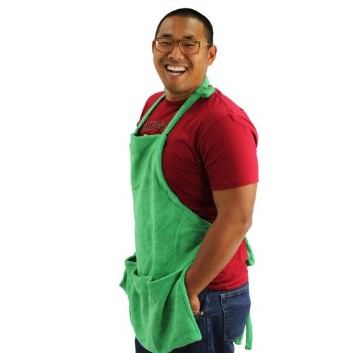 Chemical Guys MIC_APRON1 Microfiber Detailing Apron with Pockets and Hook and Loop Straps for Cords
