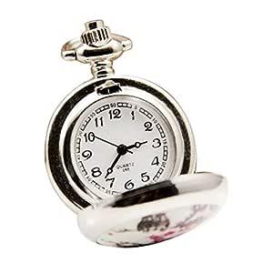 Baoleiju - Reloj de Bolsillo con diseño de Dibujos Animados ...
