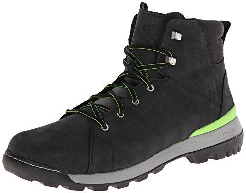 Zapatillas Adidas Sport Performance Para Hombre Trail Cruiser, Bota Intermedia, Negras / Verde Semi-solar