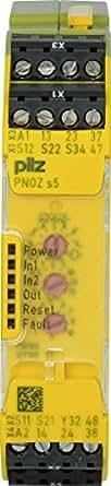 750105 Pilz - PNOZ s5 24VDC 2 n/o 2 n/o t - Safety relay PNOZsigma - E-STOP, safety gates, light grids