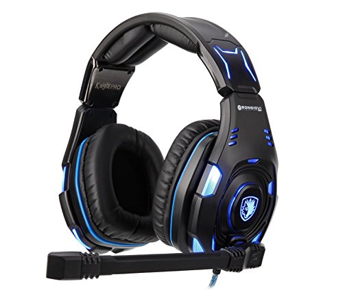 SADES Knight Pro Gaming Headset with Bongiovi Acoustics Gaming DPS! For Sale