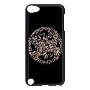 Cool Dragon Protective Hard PC Back Fits Cover Case for iPod Touch 5, 5G (5th Generation)