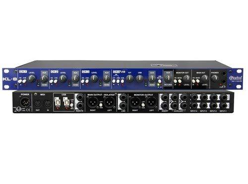 Radial KL-8 Rackmount Keyboard Mixer