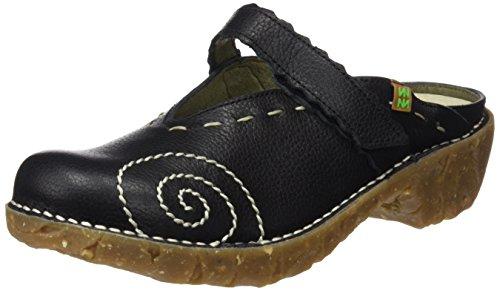 Naturalista Black Grain Donna Nero Soft Ng96 Yggdrasil Sabot El dPq6w86