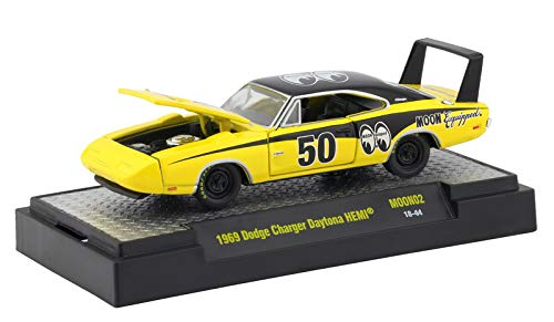 M2 Machines Limited Edition Mooneyes Release 2 1969 Dodge Charger Daytona HEMI MOON02