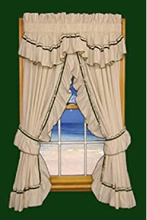 jenny country ruffle priscilla curtains pair