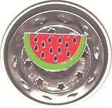 WATERMELON themed fruit decor Kitchen Sink Strainer drain plug stopper