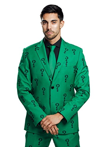 FUN Suits The Riddler Suit Jacket (Authentic) - 46R]()
