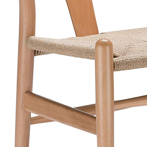 Poly and Bark Weave Chair in Natural (Set of 2) by Poly and Bark (Image #6)