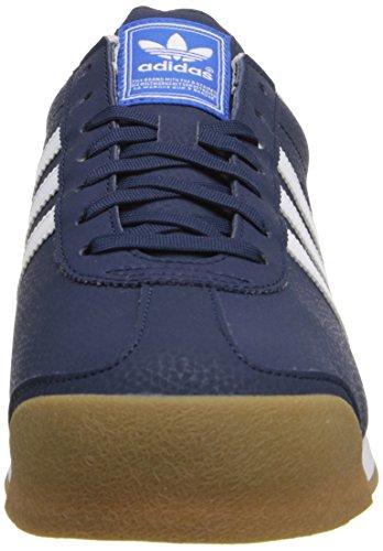 adidas Originals Men's Samoa Retro Sneaker Collegiate Navy/Running White/Metallic/Gold best wholesale the best store to get JiIMzzUUY
