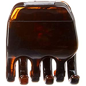 Goody 32764 Women's Classics 2 Medium Claw Clips, Pefrect for All Hair Types, Great for Easily Pulling Up Your Hair, Plastic Material, Black and Brown Colors, 2 Count (Pack of 1)