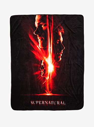 Supernatural Poster Throw Blanket