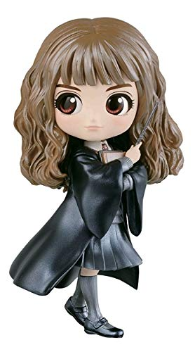 NEW Normal C Banpresto Q Posket Harry Potter Hermione Granger with Wand Figure