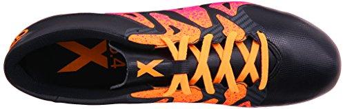 Adidas Prestanda Mens X 15,4 Fotboll Sko Svart / Chock Rosa / Guld