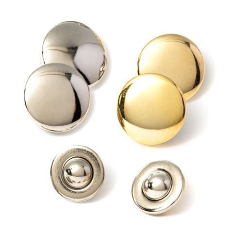 Maggies Snaps, 2 Magnetic Fasteners with 4 Button Plates Combo Pack - No Sew Button Easily and Quickly Secure 2 or More Layers of Fabric Margaret Sinclair MyMaggies MCP