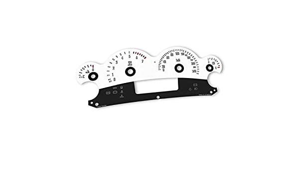 Cruizin Central White Dials for Holden Commodore VY VZ – F