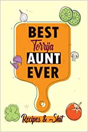 BEST Torrija AUNT EVER /Blank Recipe Book: /Blank Cookbook,Personalized Recipe Book,Cute Recipe Book,Empty Recipe Book,Customized Recipe Book,Small ... Recipe Book to Write In Your Own Recipes