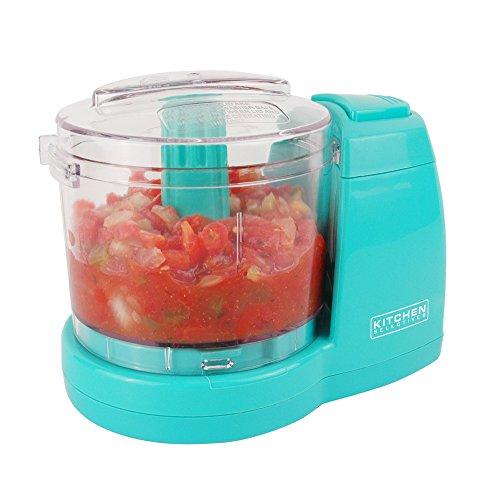 Kitchen Selectives MC-6TQ Food Chopper Mini, Turquoise