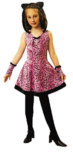 [Totally Ghoul Pretty Kitty Halloween Costume Cat Dress Large] (Child Pretty Kitty Costumes)