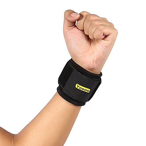 Yosoo Athletic Breathable Compression Adjustable