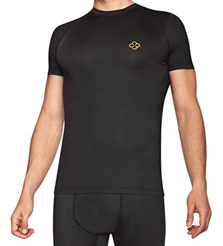 8b2424efa947f2 Copper 88 Mens Compression Short Sleeve T-Shirt with 88% Copper Fiber  Embedded Nylon