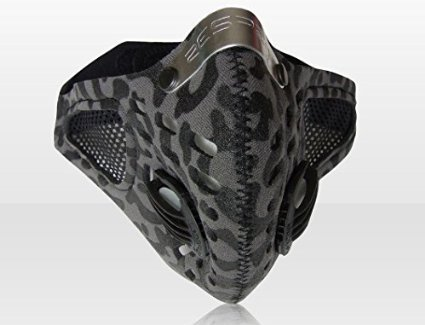 Sportsta-Anti-Pollution-Mask-X-large-GreyBlack-camouflage