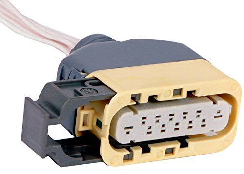 Neutral Safety Switch Connector - ACDelco PT1706 GM Original Equipment 7-Way Female Neutral Safety Switch Pigtail