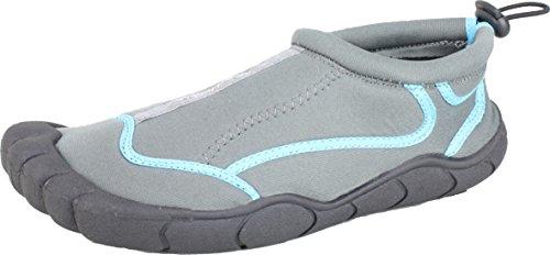 BOCKSTIEGEL® NORDERNEY Zapatos Aguamarina (36-41 Signora 3 Diseños Neopreno) grau/multi