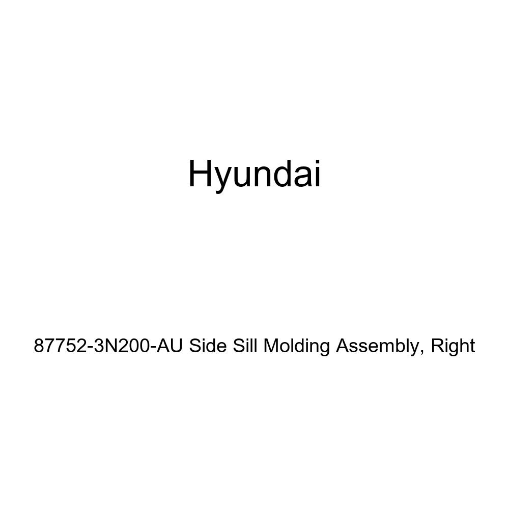 Right Genuine Hyundai 87752-3N200-AU Side Sill Molding Assembly
