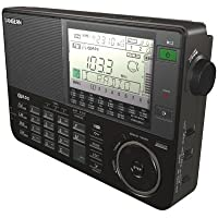 SANGEAN ATS-909X-BK Professional Multi-Band AM/FM/SW Receiver (Black)