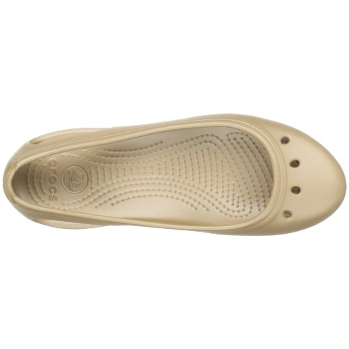 Crocs Frauen Kadee Flat Gold / Gold