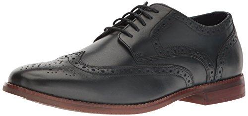 Rockport Men's SP Wing Tip Oxford, Navy Leather, 13 M US