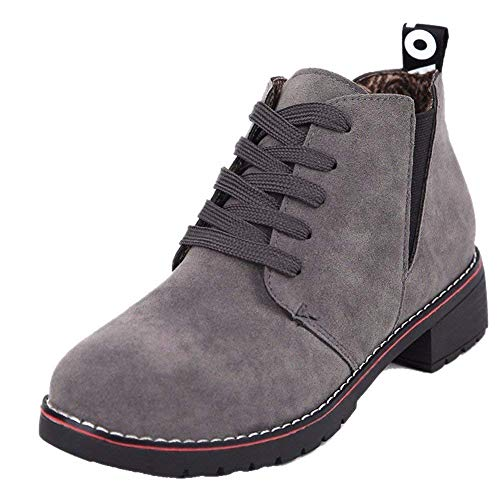 Cylinder Stivali 's Ups Low Donna Shoes Sed 37 Da Heeled Eu Casual Women Flat Lace qTx0dw