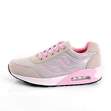Der Herbst Frauen Schuhe, Freizeitschuhe für Studenten, Pink, 35 Talsohle