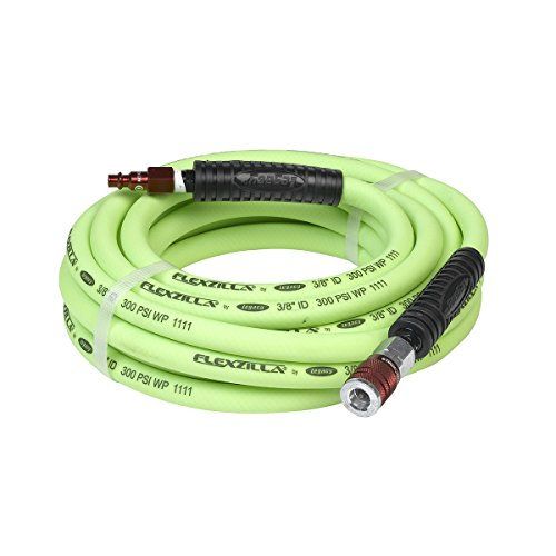 Flexzilla Air Hose with ColorConnex Industrial Type D Couple